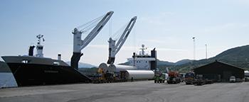 Port in Bogen